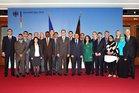 Gruppenfoto mit dem Bundesminister Dr. Guido Westerwelle