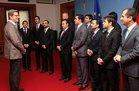 Diplomaten im Gespräch mit BM Guido Westerwelle
