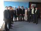 Während des Besuchs bei den Vereinten Nationen