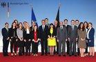 Westbalkan 3, Foto mit dem Bundesminister