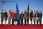 Die Damen des 37. Internationalen Diplomatenlehrgangs