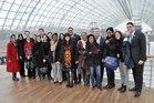 Gruppenbild auf der Leipziger Buchmesse