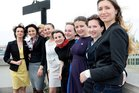 Die Damen des 3. Ukraine-Lehrgangs