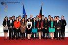 Gruppenfoto Asien und Pazifik-Lehrgang 2012