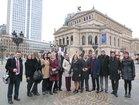 Tour durch Frankfurt