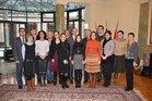 Gruppenfoto des 8. Diplomatenkollegs